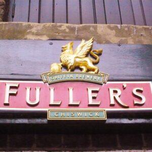 Fuller's die Brauerei mit dem Greif