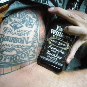 Whiskey Professor Bernier Lubbers Tattoo