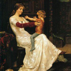 Blanche de Namur, gemalt vonAlbertEdelfelt