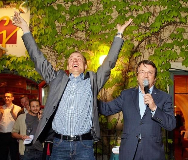 Schlossquadrat Trophy 2015: Sieger Christoph Berger, Weingut Berger, Röschitz, NÖ