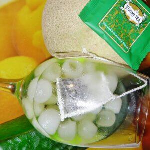 Melonen Fizz einer von drei Twists