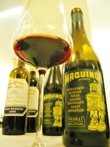 Priorat PLV Wein Maquinon hoch