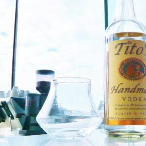 Tito'a Wodka aus Texas 001