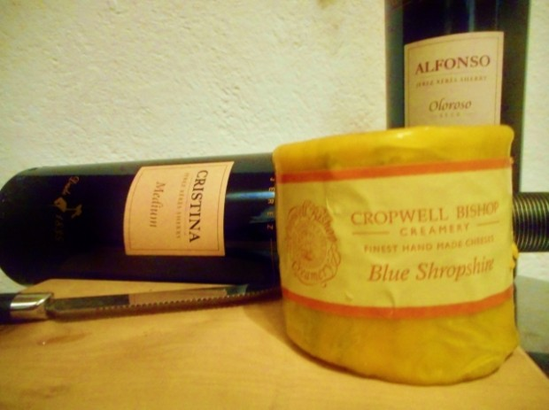 Gonzales Byass Jerez mit Blue Cheese (640x478)
