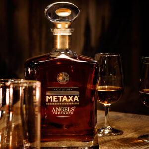 METAXA ANGELS' Treasure - The Decanter & Tasting Glasses