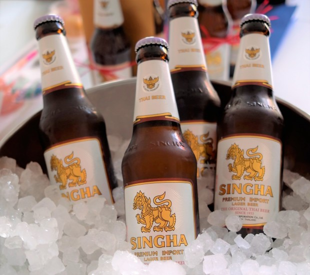Bier Singha Lager from Thailand