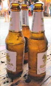 Bier Singha hoch