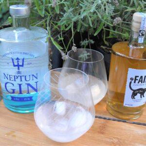 Neptun und Fair Gin querto