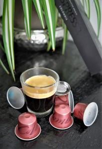 Nespresso Master origin Colombia hoch