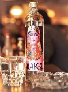 Schnapsquartett mit Vetterhof Wodka