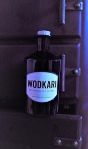 Wodkari Swiss Wodka Kunstshot hoch