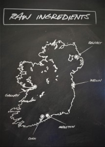Irish Whiskey Map
