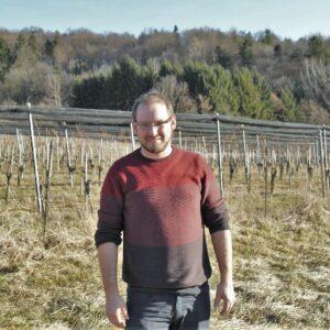 Walter Frauwallner im Weingarten Stradenquerto