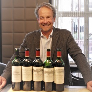 Laurent Dufau mit Chateau Calon Segur