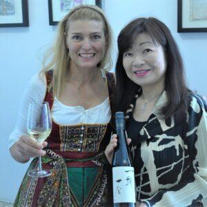 Hoch der Japanwein 150jahre