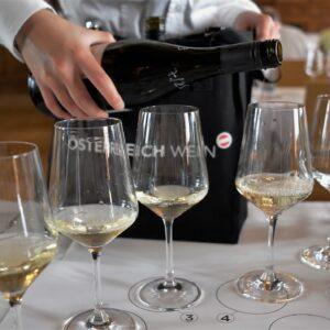 SALON Wein Österreich 19 Flights weiss