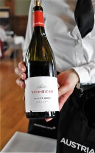 SALON Wein Österreich 19 Flights Schneider