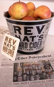 Reverend Nat's Cider hoch