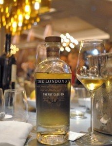 The London Gin N°1 Sherry Cask Gin hoch
