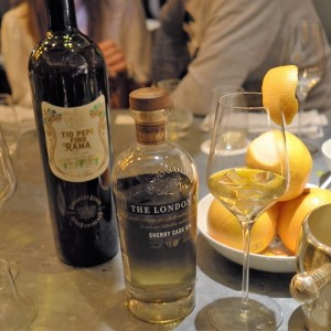 The London Gin N°1 Sherry Cask Gin quer