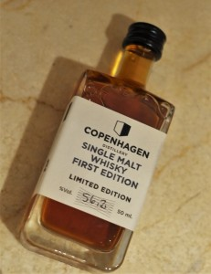 Copenhagen Distillery Launch Erstfüllung