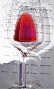 Littorai Californian Pinot Noir Glas hoch