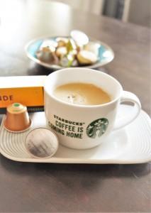 Starbucks Nespresso Blonde Roast hoch
