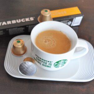 Starbucks Nespresso Blonde Roast querto