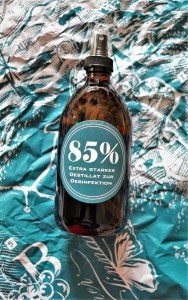 Lackner Tinnacher Desinfektion Weinbrand 85 hoch