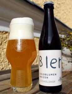 Hofstetten Loidholdhof Weizen Bier hoch