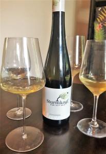Sturmkogel Masser Weinglas Test hoch