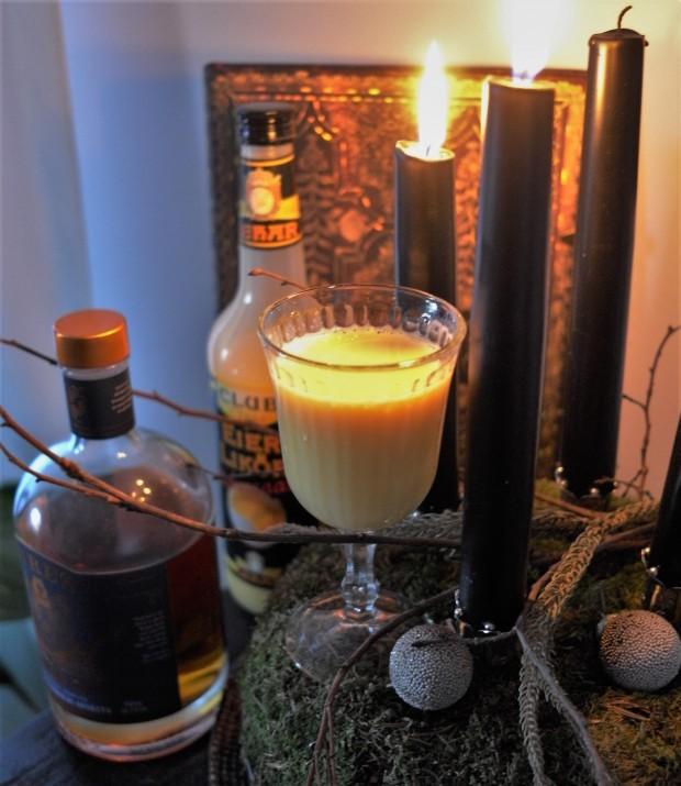 Eggnogg mit Lyre's American Malt qudr