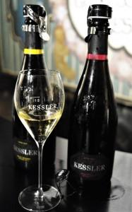 Kessler Sekt Glas Riesling hoch