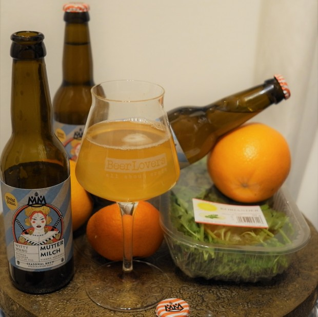 Witty Wang Witbier Muttermilch Beer Lovers quert