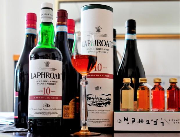Laphroaig Ten years Sherry Oak Finish quer
