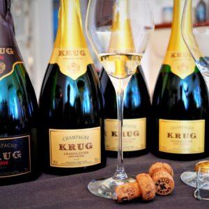 Champagne Krug Verkostung 169e Grand Cuvée quer