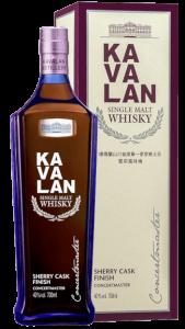 Kavalan Whisky Taiwan Formosa Single Malt Concertmaster Sherry Cask Finish ho