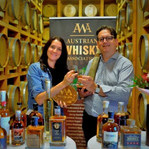 AWA Verleihung Whisky Botschafter Roggenreith Jasmin Haider-Stadler Roland Graf total